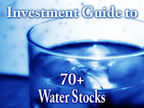 water stocks